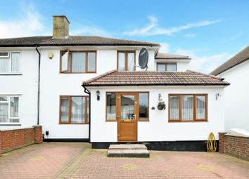Thumbnail 5 bedroom semi-detached house for sale in North Downs Road, New Addington, Croydon
