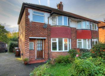 Thumbnail 3 bedroom semi-detached house for sale in Selsey Avenue, Stockport