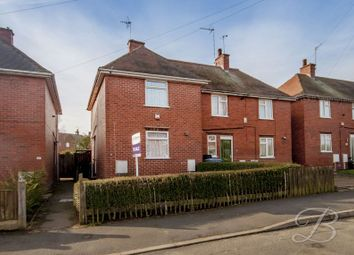 Thumbnail 2 bed semi-detached house for sale in Wharmby Avenue, Mansfield