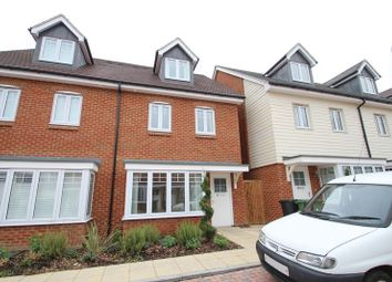 Thumbnail 4 bedroom semi-detached house to rent in Elham Crescent, Dartford