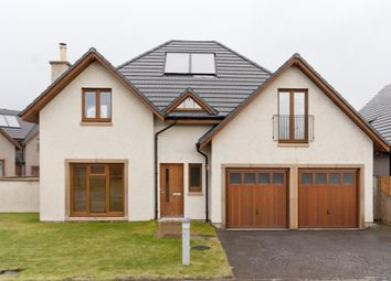Thumbnail 4 bed detached house for sale in Stuart Crescent, Kemnay