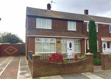 Thumbnail 3 bed end terrace house for sale in Landseer Gardens, South Shields