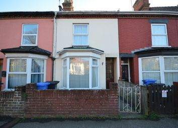 Thumbnail 3 bedroom terraced house to rent in London Road South, Lowestoft