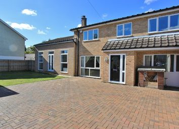 Thumbnail 4 bed detached house for sale in Station Road, Willingham, Cambridge