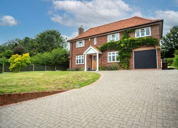 Thumbnail 4 bed detached house for sale in The Street, Brockdish, Diss