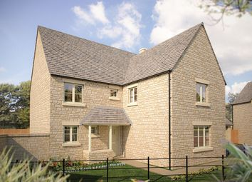 "Thumbnail 5 bedroom detached house for sale in ""The Bourton"" at Cinder Lane, Fairford"