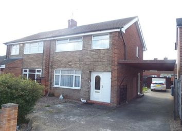 Thumbnail 3 bed semi-detached house to rent in Brookside Avenue, Mansfield Woodhouse, Mansfield