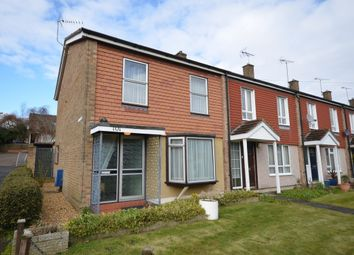 Thumbnail 3 bed end terrace house for sale in The Chantrys, Farnham, Surrey