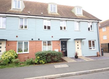 Thumbnail 3 bed town house for sale in Farrow Avenue, Hampton Vale, Peterborough