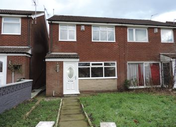Thumbnail 3 bedroom semi-detached house to rent in Garforth Street, Chadderton, Oldham