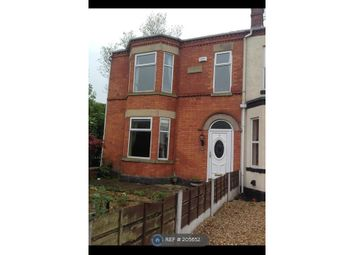 Thumbnail 4 bedroom terraced house to rent in Station Road, Manchester