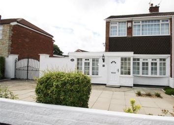 Thumbnail 3 bed semi-detached house for sale in Parkside Drive, Liverpool, Merseyside