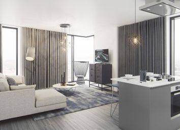 Thumbnail 1 bed flat for sale in The Bank, Tower 2, Birmingham
