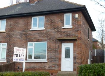 Thumbnail 2 bedroom semi-detached house to rent in High Greave Road, Herringthorpe