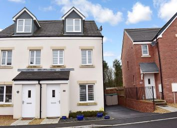 Thumbnail 3 bedroom semi-detached house for sale in Clos Y Coed Castan, Coity, Bridgend.