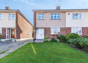 Thumbnail Semi-detached house for sale in Rutland Drive, Hornchurch