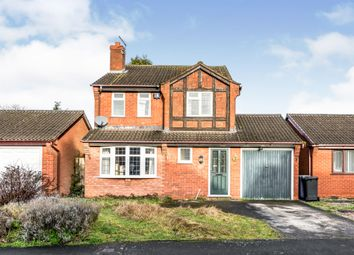 Thumbnail 3 bed detached house for sale in Lanes Close, Kings Bromley, Burton-On-Trent