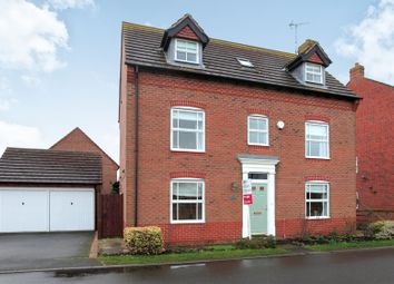 Thumbnail 5 bed detached house for sale in West Water Crescent, Hampton Vale, Peterborough
