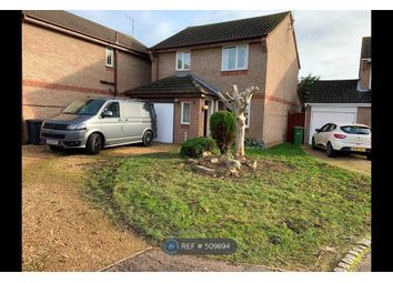 Thumbnail 3 bed detached house to rent in Caldbeck Close, Peterborough