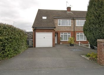 Thumbnail 5 bed semi-detached house to rent in Spring Rise, Englefield Green, Egham