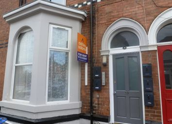 Thumbnail 1 bed flat to rent in Leopold Street, Derby