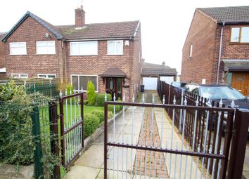 Thumbnail 3 bed semi-detached house for sale in Talke Road, Chesterton, Newcastle