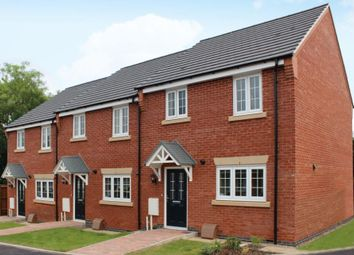 Thumbnail 3 bedroom town house for sale in Huncote Road, Stoney Stanton, Leicester