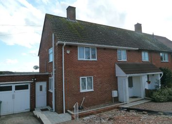 Thumbnail 3 bed semi-detached house to rent in Salterton Road, Exmouth