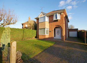Thumbnail 3 bed detached house for sale in Newark Road, North Hykeham, Lincoln