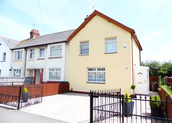 Thumbnail 3 bed end terrace house for sale in Tweedsmuir Road, Splott, Cardiff