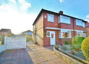Thumbnail 3 bed semi-detached house for sale in Clandon Avenue, Eccles, Manchester