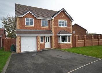 Thumbnail 4 bed detached house for sale in Lon Olwen, Towyn