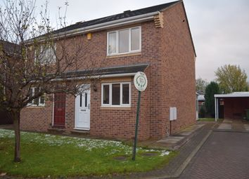 Thumbnail 2 bed semi-detached house to rent in Maple Court, Ossett