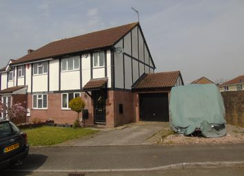 Thumbnail 3 bedroom semi-detached house for sale in Jestyn Close, Michaelston-Super-Ely, Cardiff