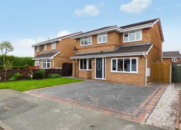 Thumbnail 4 bed detached house for sale in Linnet Close, Winsford, Cheshire