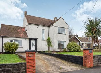 Thumbnail 3 bed detached house to rent in Cefn Road, Cefn Cribwr