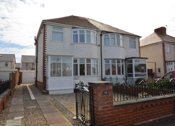 Thumbnail 3 bed semi-detached house for sale in Alderley Avenue, Blackpool