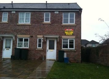 Thumbnail 2 bed end terrace house to rent in Moorland Gardens, Lliswerry, Newport