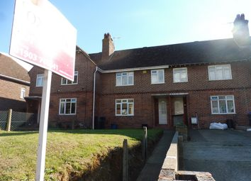 Thumbnail 3 bed terraced house for sale in Tower Road, Sompting, Lancing
