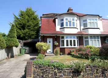 Thumbnail 4 bed semi-detached house for sale in Widmore Lodge Road, Bickley, Bromley