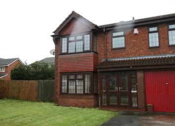 Thumbnail 4 bedroom detached house to rent in Honeysuckle Drive, Walsall