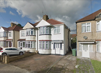 Thumbnail 3 bed semi-detached house to rent in Derby Avenue, Harrow Weald, London