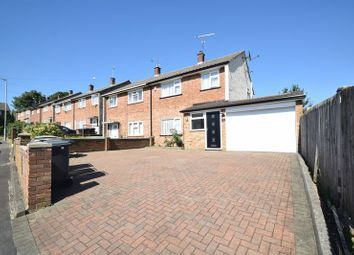 Thumbnail 3 bed semi-detached house to rent in Baldock Close, Luton