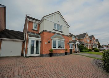 Thumbnail 3 bed detached house for sale in Old Hall Drive, Bradwell, Newcastle