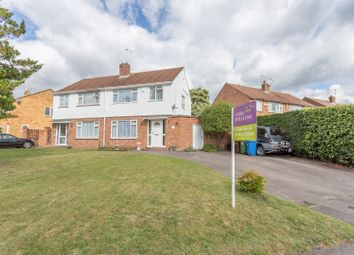 Wide Frontage Wentworth Avenue, Ascot, Berkshire SL5. 3 bed semi-detached house