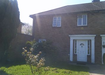Thumbnail 3 bed semi-detached house to rent in Fryent Way, London