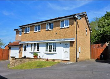 Thumbnail 2 bedroom semi-detached house for sale in Avens Close Woodhall Park, Swindon
