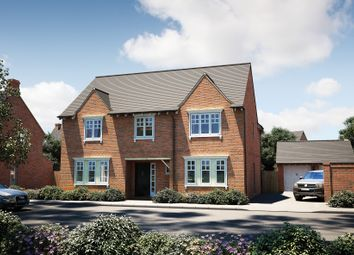 "Thumbnail 5 bedroom detached house for sale in ""The Bolberry"" at Tile Barn Row, Woolton Hill, Newbury"