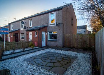 Thumbnail 2 bed end terrace house for sale in Franchi Drive, Stenhousemuir, Larbert