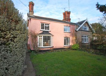 Thumbnail 3 bedroom semi-detached house for sale in Hope Terrace, Halesworth